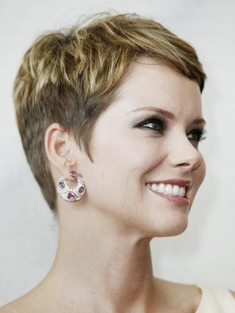 Pin On Haiir intended for Pixie Haircuts With Tapered Sideburns