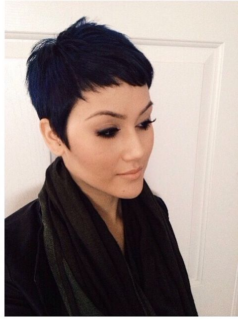 Pin On Hair Of My Dreams!! inside Pixie Haircuts With Tapered Sideburns
