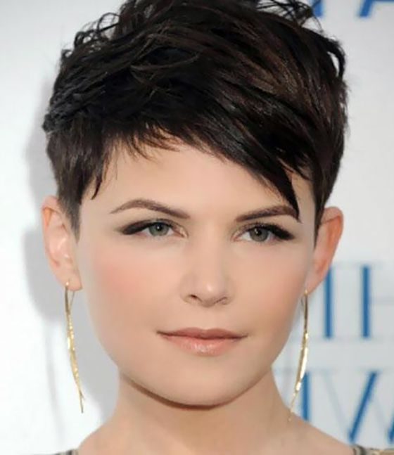 Pin On Hair pertaining to Cropped Haircuts For A Round Face
