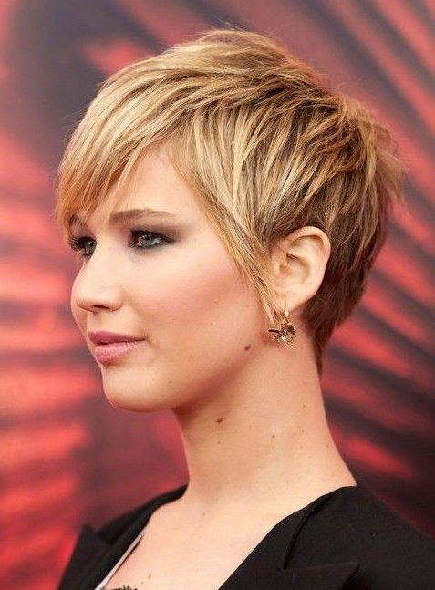 Pin On Hair within Cropped Haircuts For A Round Face