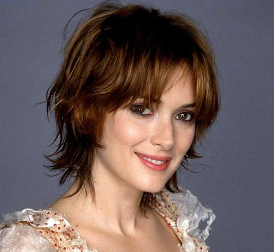 Pin On Haircuts for Razored Shaggy Bob Hairstyles With Bangs