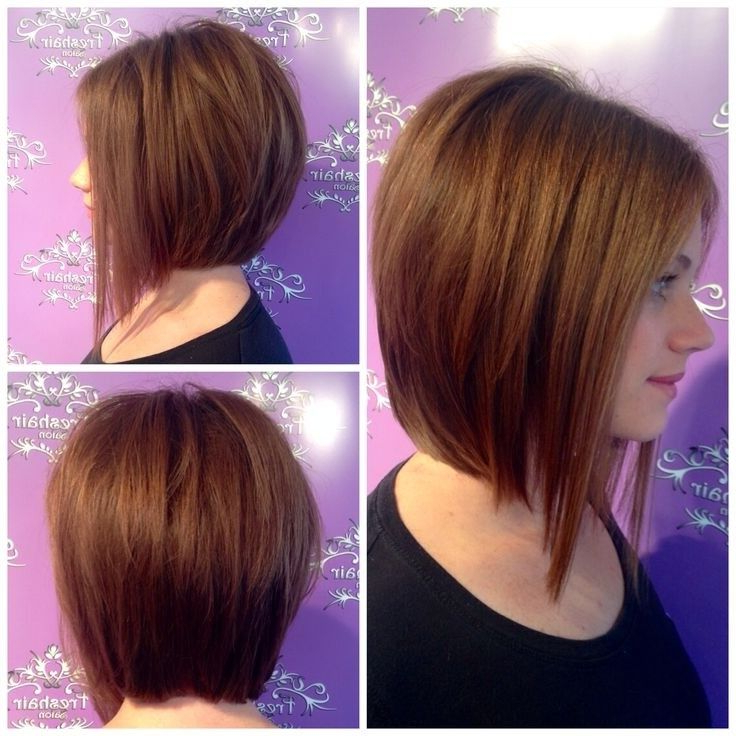 Pin On Haircuts throughout A-Line Haircuts For A Round Face
