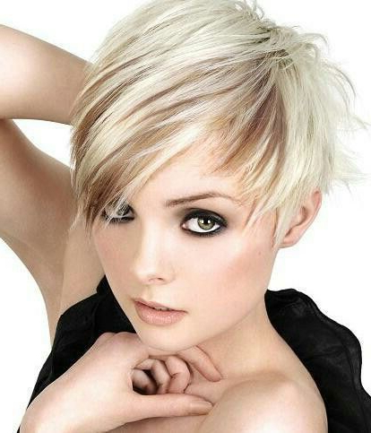 Pin On Short Cuts inside Edgy Ash Blonde Pixie Haircuts