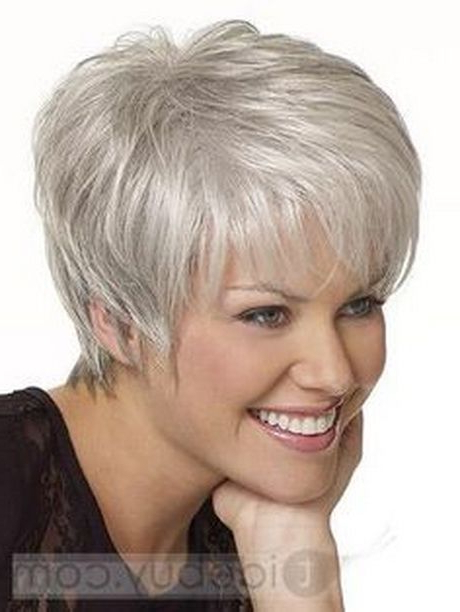 Pin On Short Hairstyles intended for Gray Pixie Haircuts With Messy Crown