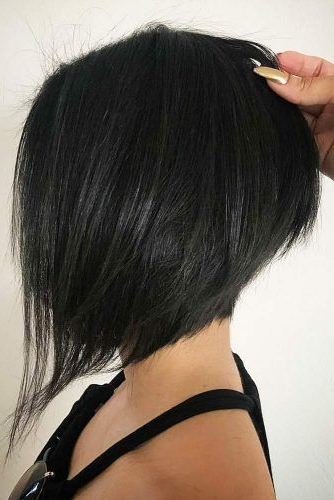 Pin On Short Styles for Steeply Angled Razored Asymmetrical Bob Hairstyles