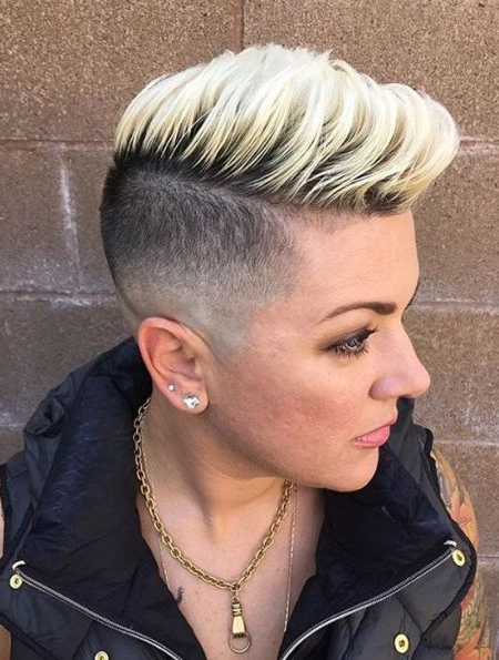 Pinkeith On Color In 2019 | Short Fade Haircut, High within Short Tapered Pixie Upwards Hairstyles