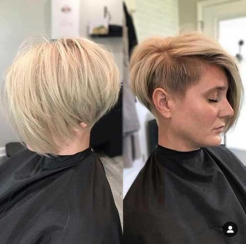 Pixie Bob Haircuts For Neat Look | Pixie Bob Haircut, Shaved with Minimalist Pixie Bob Haircuts