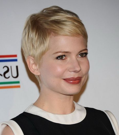 Pixie Haircut For Round Face #favouritewomenshaircuts with Pixie Haircuts For Round Faces
