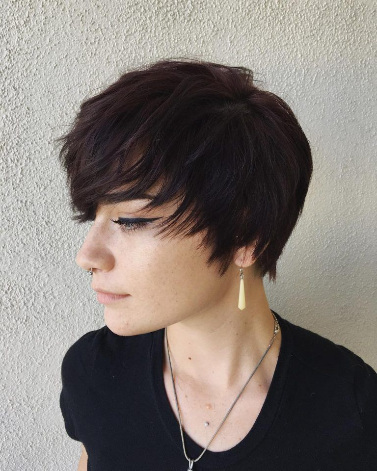 Pixie Haircuts For Beauty Laides 2019 – Page 26 Of 41 Pertaining To Minimalist Pixie Bob Haircuts (View 12 of 25)