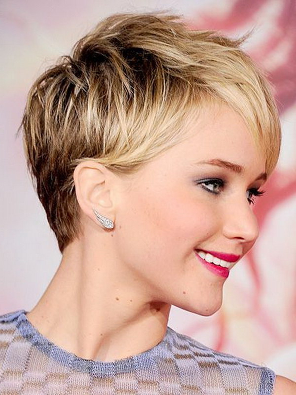 Short Haircuts For Round Faces 28 – Hairstyles Fashion And Regarding Pixie Haircuts For Round Faces (View 2 of 25)