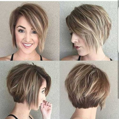 Short Haircuts For Round Faces | Short Haircut Styles With Regard To Layered Short Hairstyles For Round Faces (View 4 of 25)