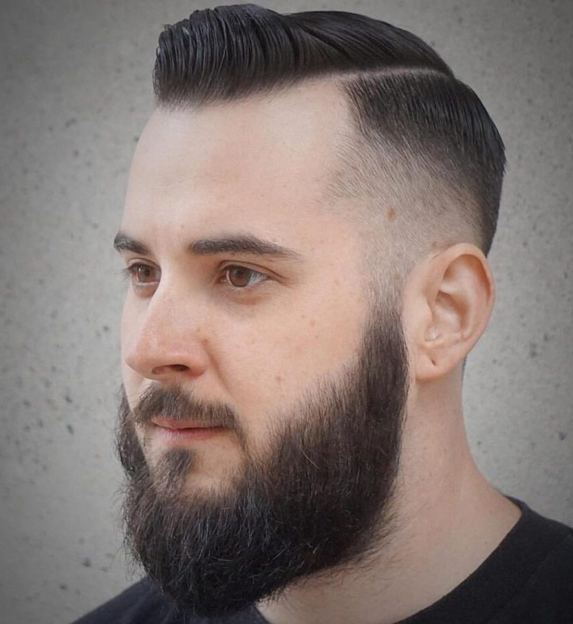Taper Fade: 13 High And Low Taper Fade Haircuts For Men Of Style Throughout Pixie Haircuts With Tapered Sideburns (View 20 of 25)