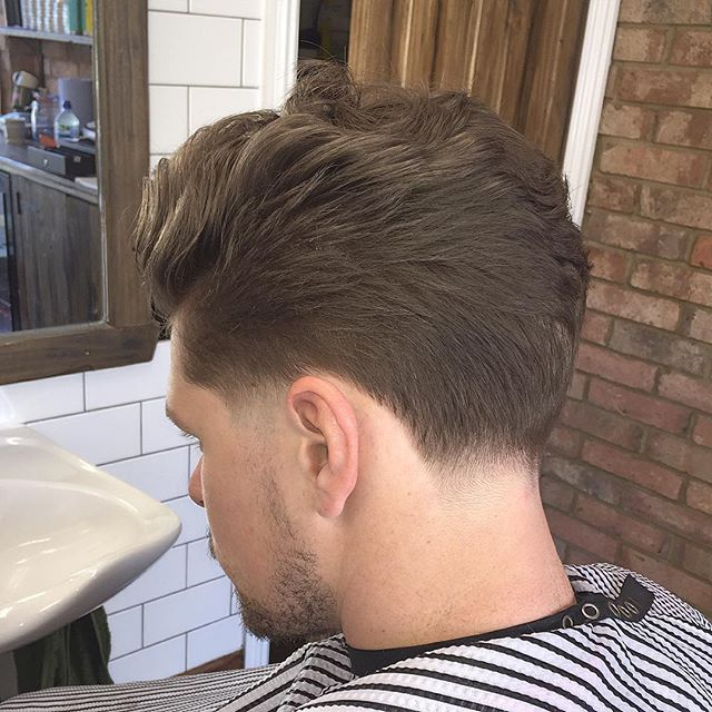 The Neck Taper | Hair, Beard Styles, Hair Styles, Cool With Regard To Pixie Haircuts With Tapered Sideburns (View 13 of 25)