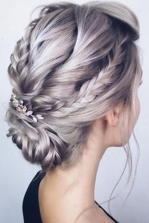 10 Beautiful Braided Updo Hairstyles For Women – Modern Updo Pertaining To Newest Modern Braided Top Knot Hairstyles (View 7 of 25)