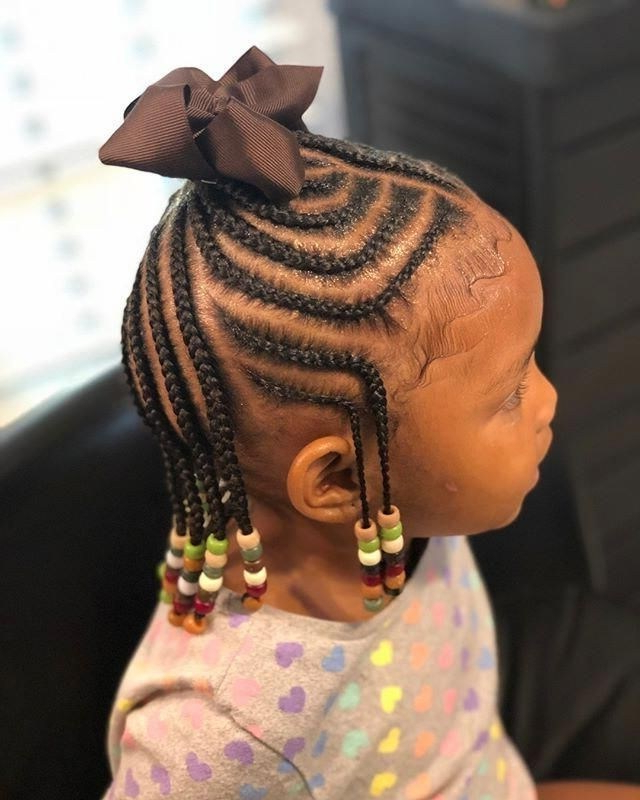 10 Best Braided Hairstyles For Kids With Beads – Cruckers Inside Current Beaded Braids Hairstyles (View 23 of 25)