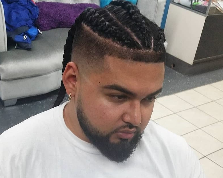 10 Classic Ways Style Single Braids For Men [2020] – Cool With Best And Newest Tapered Tail Braid Hairstyles (View 16 of 25)