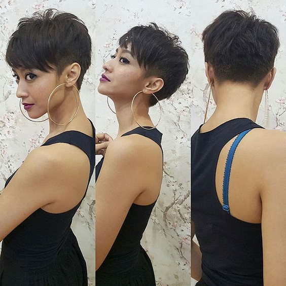 10 Colorful & Stylish Easy Pixie Haircut Ideas – Short Pixie Within Most Up To Date Sassy Short Pixie Haircuts With Bangs (View 17 of 25)
