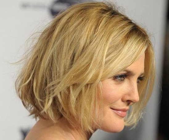 10 Easy, Short Hairstyles For Round Faces – Popular Haircuts With Jagged Bob Hairstyles For Round Faces (View 12 of 25)