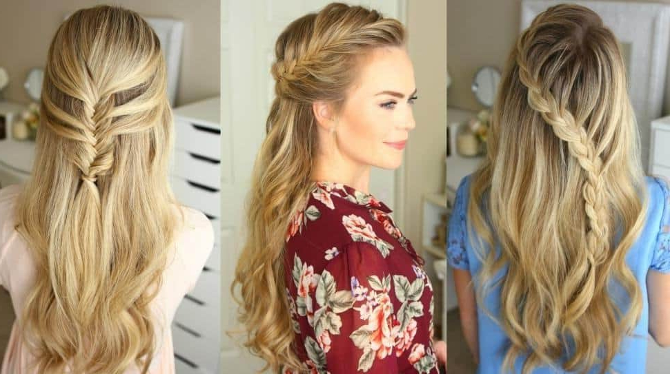 10 Edgy Half Braided Hairstyles For Black Hair – Hairstylecamp With Regard To Most Up To Date Half Braided Hairstyles (View 6 of 25)