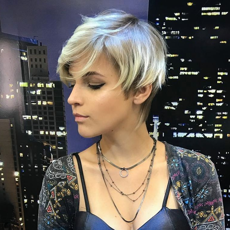 10 Edgy Pixie Haircuts For Women, Best Short Hairstyles 2020 Inside Latest Metallic Short And Choppy Pixie Haircuts (View 25 of 25)
