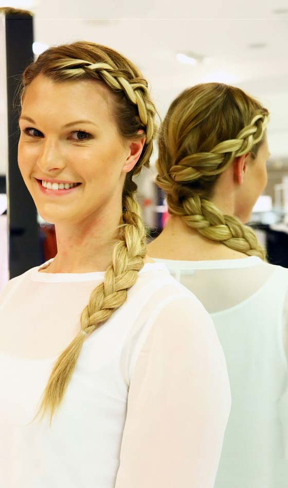 10 Elegant Halo Hairstyles To Inspire You Throughout 2020 Halo Braid Hairstyles With Long Tendrils (View 14 of 26)