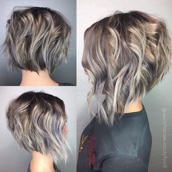 10 Latest Inverted Bob Haircuts 2020 Pertaining To 2018 Classic Disconnected Bob Haircuts (View 10 of 25)