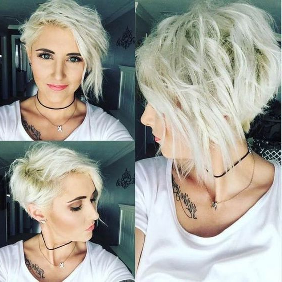 10 Messy Hairstyles For Short Hair 2020 – Short Hair Cut Inside Best And Newest Edgy Messy Pixie Haircuts (View 22 of 25)
