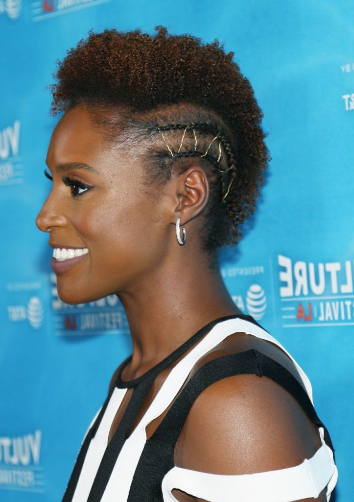 10 Mohawk Hairstyles For Black Women You Seriously Need To Try Inside Most Popular Metallic Side Cornrows Hairstyles (View 16 of 25)