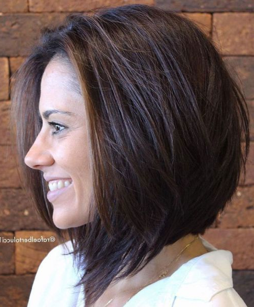 10+ New Ideas Short Haircuts For Thick Hair 2020 – #hair With Regard To Gorgeous Bob Hairstyles For Thick Hair (View 14 of 25)