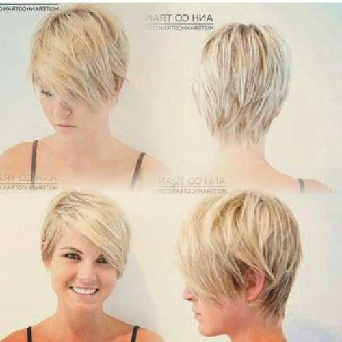 10 New Pixie Hairstyles For Round Faces Within Most Recently Pixie Haircuts For Round Face (View 9 of 25)