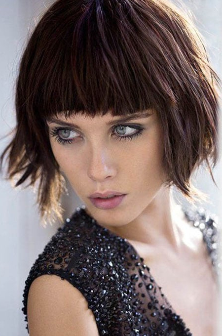 100 Best Hairstyles & Haircuts For Women With Thin Hair In 2020 Intended For Modern Bob Hairstyles With Fringe (View 13 of 25)