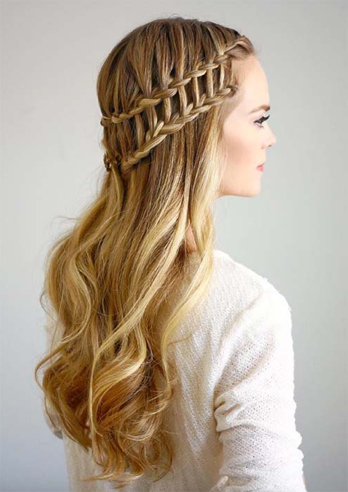 100 Ridiculously Awesome Braided Hairstyles To Inspire You With Most Up To Date Loosely Tied Braid Hairstyles With A Ribbon (View 12 of 25)