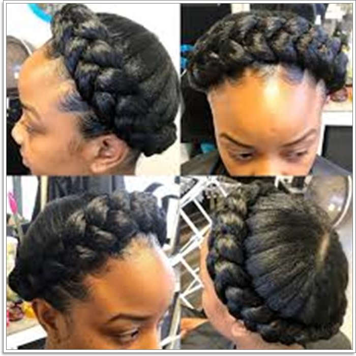 101 Extraordinary Halo Braids That Will Make You Feel Like A Inside Most Popular Braided Halo Hairstyles (View 11 of 25)
