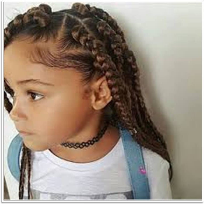 106 Adorable And Time Saving Braid Hairstyles For Kids | Sass In Current Angular Crown Braid Hairstyles (View 18 of 25)