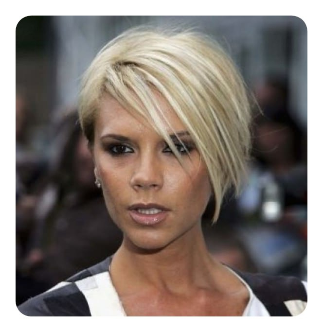 108 Asymmetrical Bob Hairstyles – This Century's Most Throughout Blonde Undercut Bob Hairstyles (View 20 of 25)