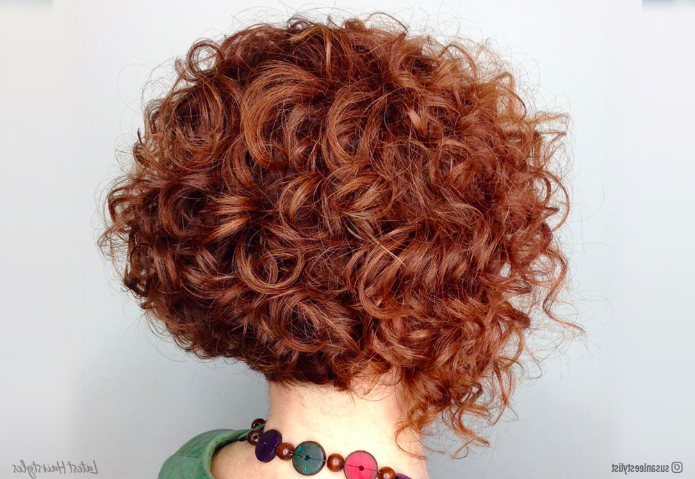 11 Cutest Short Curly Bob Haircuts For Curly Hair In Curly Bob Hairstyles (View 5 of 25)
