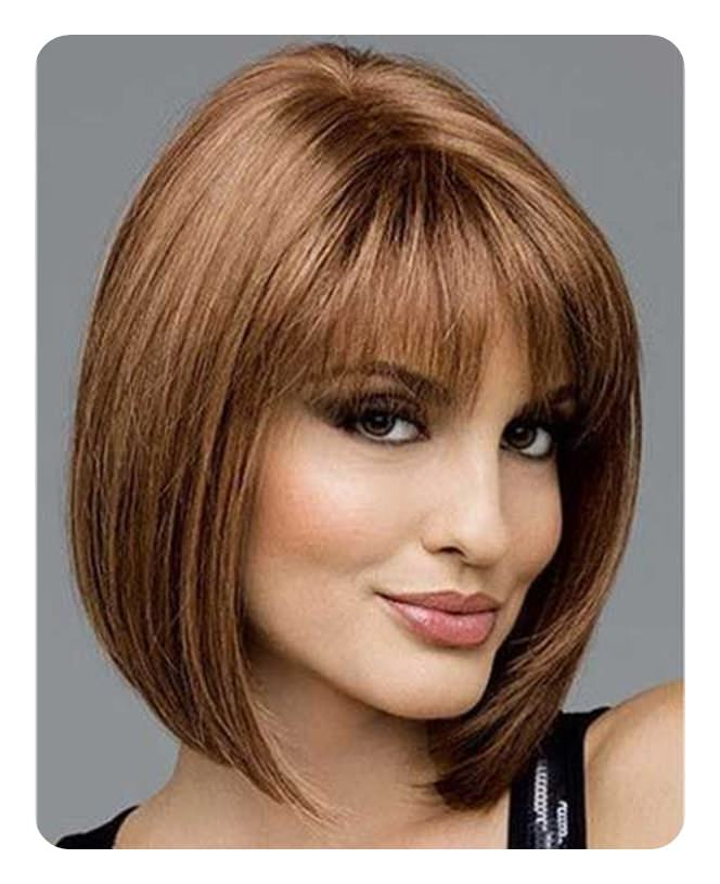 112 Best Blunt Bob Hairstyles For The Year 2020 – Style Easily For Sharp And Blunt Bob Hairstyles With Bangs (View 19 of 25)