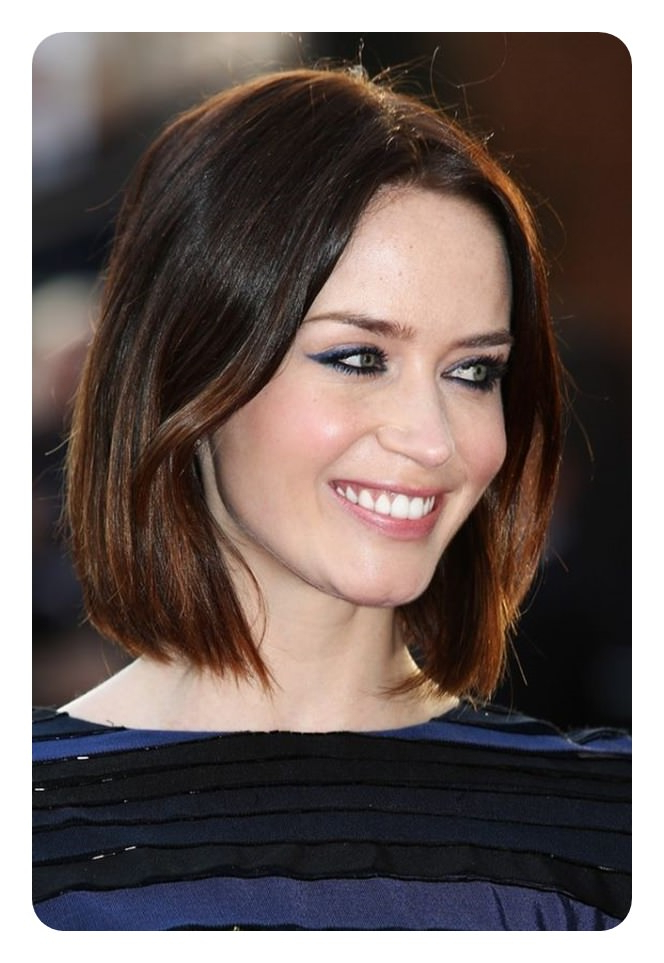 112 Best Blunt Bob Hairstyles For The Year 2020 – Style Easily Inside Sleek Blunt Bob Hairstyles (View 16 of 25)