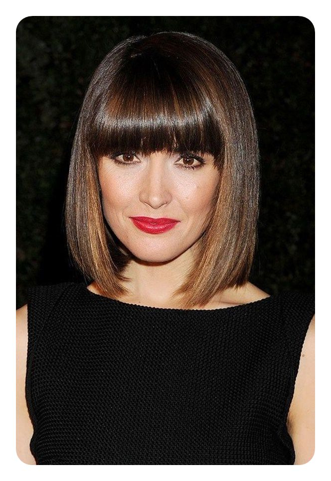 112 Best Blunt Bob Hairstyles For The Year 2020 – Style Easily Within Sharp And Blunt Bob Hairstyles With Bangs (View 7 of 25)
