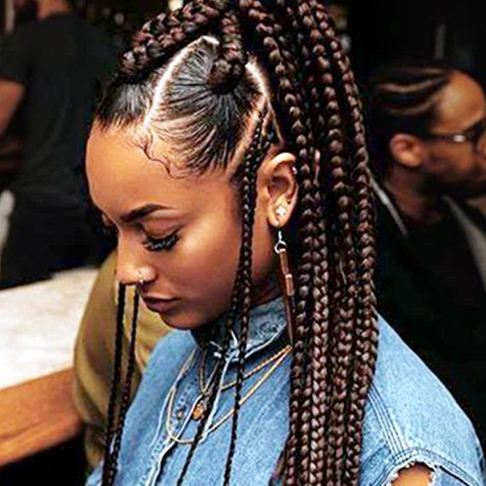 13 Beautiful Hairstyles With Beads You Have To See For Latest Beaded Plaits Braids Hairstyles (View 7 of 25)