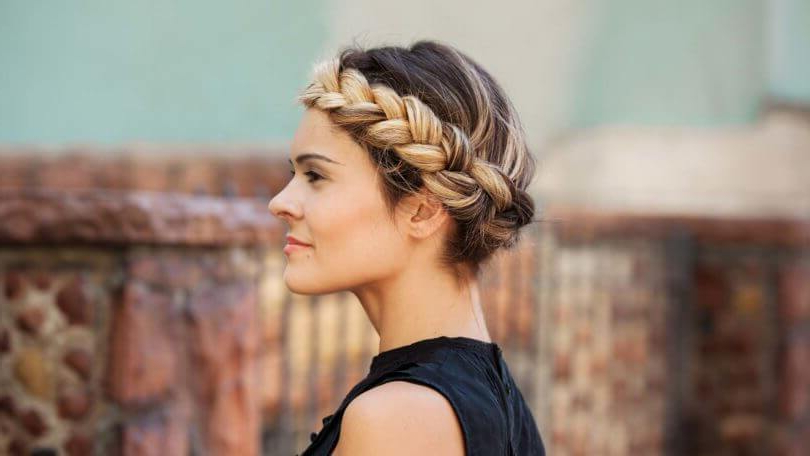 13 Best Classic Braid Hairstyles For Women Regarding Newest Halo Braid Hairstyles With Long Tendrils (View 9 of 26)
