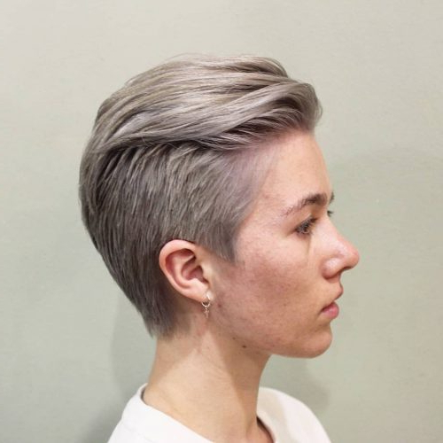 13 Modern Androgynous Haircuts For Everyone For Most Recently Androgynous Pixie Haircuts (View 18 of 25)