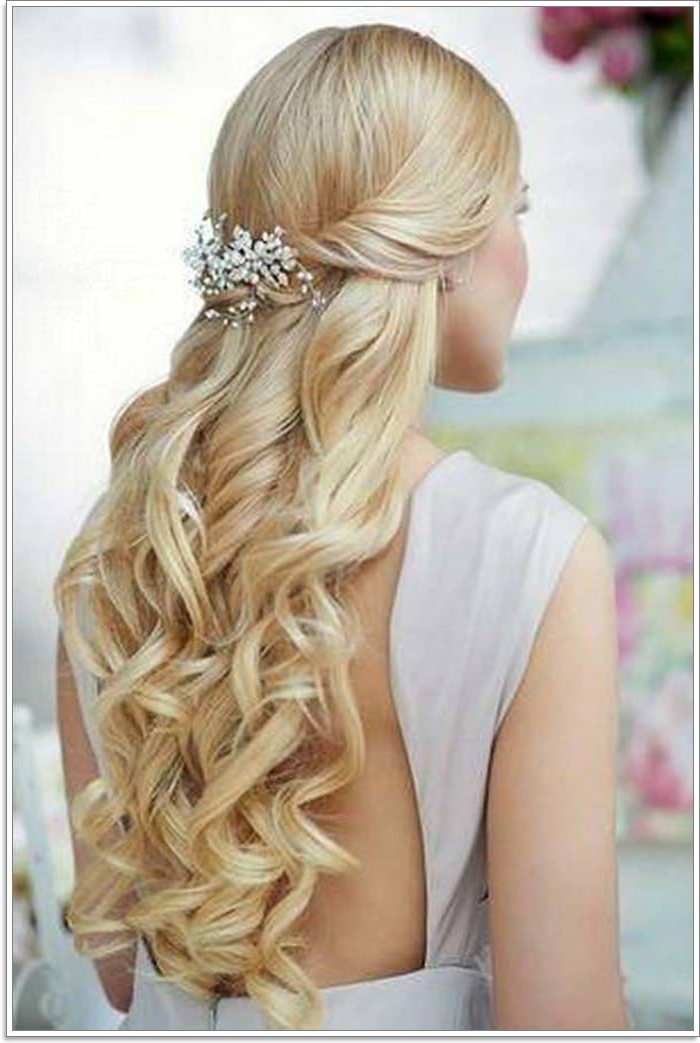 135 Whimsical Half Up Half Down Hairstyles You Can Wear For Inside Current Loosely Tied Braid Hairstyles With A Ribbon (View 17 of 25)