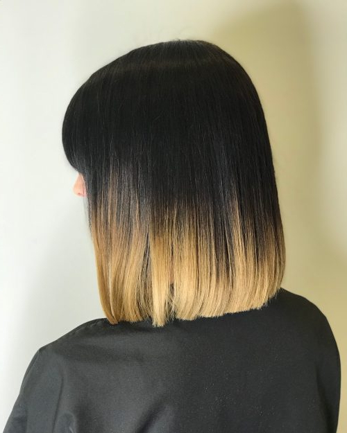 14 Best Blunt Cut Bob Haircuts For Every Face Shape Regarding Sharp And Blunt Bob Hairstyles With Bangs (View 21 of 25)