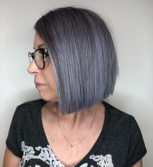14 Best Blunt Cut Bob Haircuts For Every Face Shape Within Sharp And Blunt Bob Hairstyles With Bangs (View 13 of 25)
