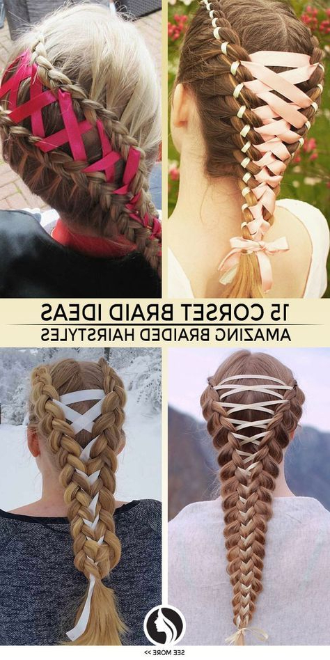 15 Amazing Braid Hairstyles With Corset Braid Hair | Braided In Current Corset Braid Hairstyles (View 8 of 25)