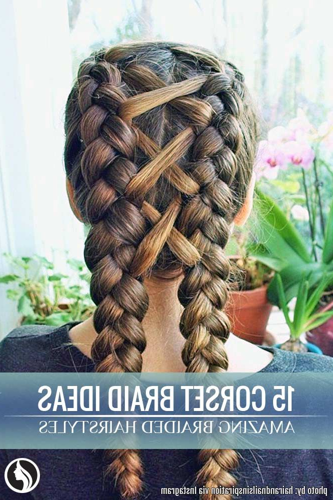 15 Amazing Braid Hairstyles With Corset Braid Hair | Braided Regarding Most Recently Corset Braid Hairstyles (View 6 of 25)