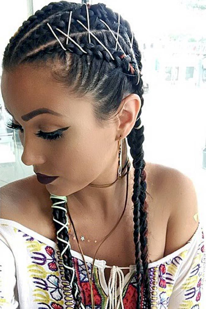 15 Amazing Braid Hairstyles With Corset Braid Hair | Braided With Regard To Newest Corset Braid Hairstyles (View 10 of 25)