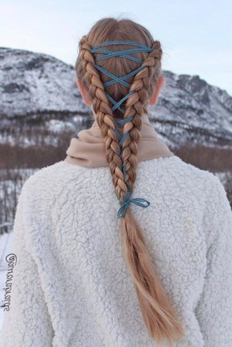 15 Amazing Braid Hairstyles With Corset Braid Hair | Hair Inside Latest Corset Braid Hairstyles (View 17 of 25)