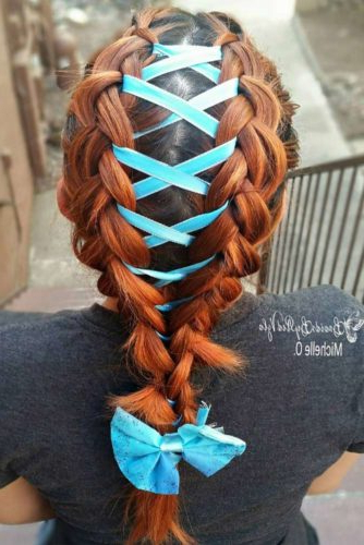 15 Amazing Braid Hairstyles With Corset Braid Hair Regarding Most Up To Date Corset Braid Hairstyles (View 11 of 25)